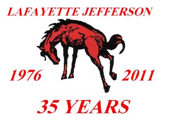 35th reunion of the LAfayette Jefferson high school Bronchos July 23 2011